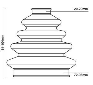 Pylnik ShRUS Duraboot DBC700 scheme