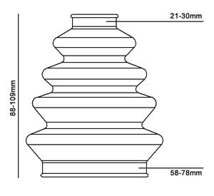 Pylnik ShRUS Duraboot DBC800 scheme